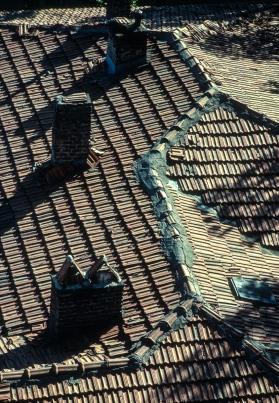 Erzurum rooftops.