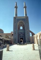 Entrance portal, Majid-I-Jomeh, Yezd.