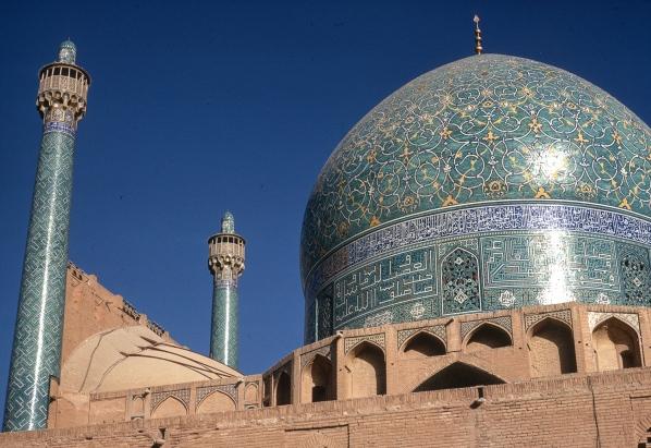 The Majid-I-Shah cupola, Isfahan.